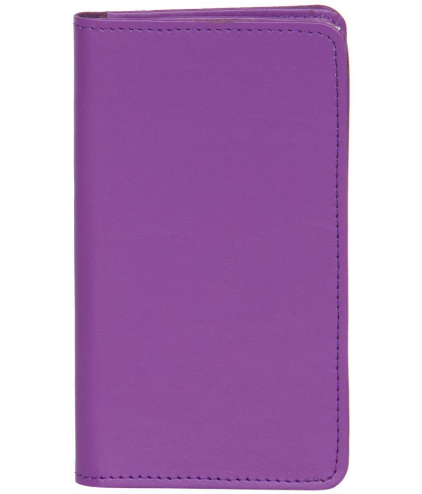 Karbonn Smart A11 Star Holster Cover by Senzoni - Purple