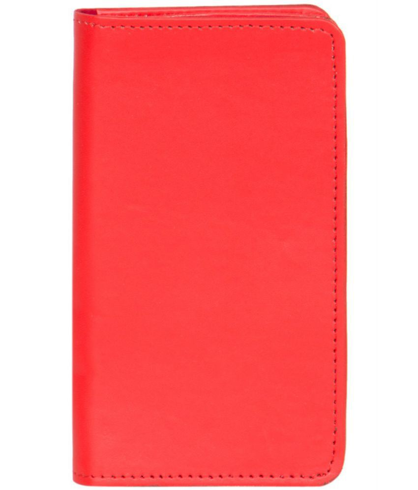 Karbonn K106+ Holster Cover by Senzoni - Red
