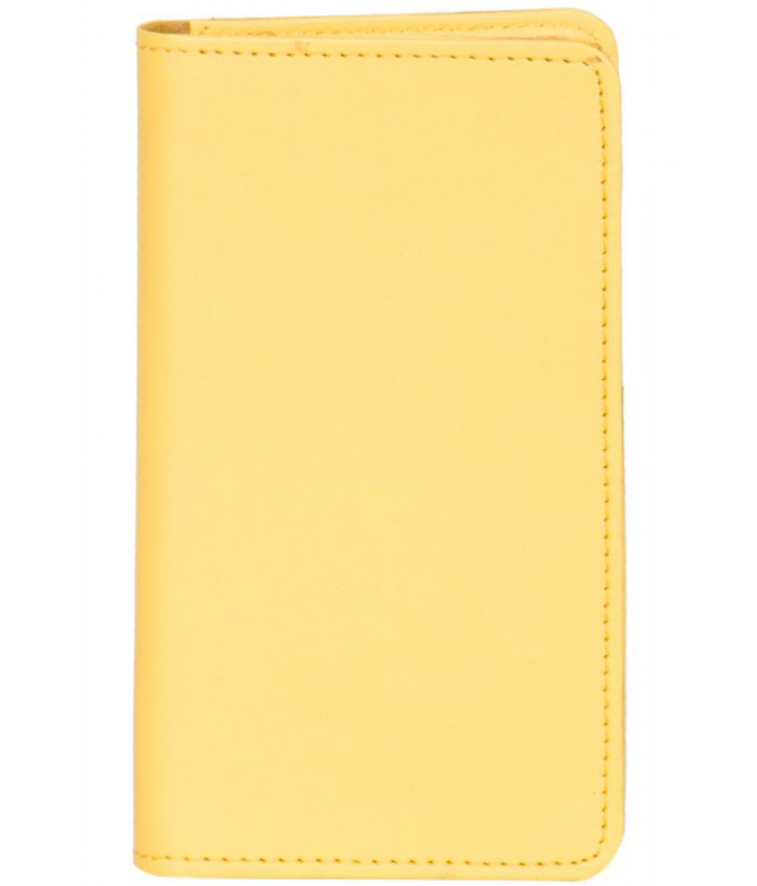 Micromax Bolt Q381 Holster Cover by Senzoni - Yellow
