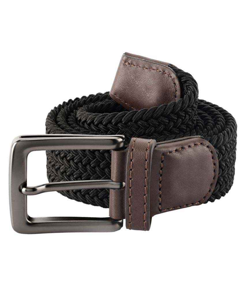 Colorplus Black Leather Casual Belts