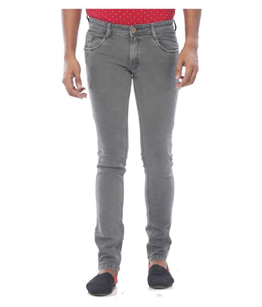 Rivex Grey Straight Solid