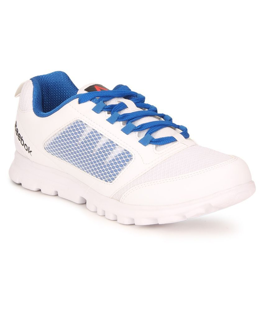 6ad31c27e7b592 Reebok Run Stormer White Running Shoes - Buy Reebok Run Stormer White  Running Shoes Online at Best Prices in India on Snapdeal