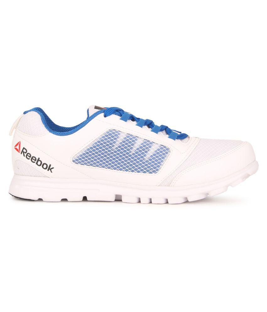 87e8a6c3dc7 Reebok Run Stormer White Running Shoes Reebok Run Stormer White Running  Shoes ...