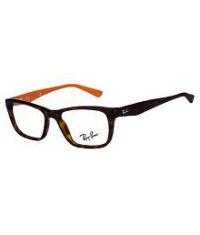 Ray-Ban Brown Square Spectacle Frame RX-5347-I-5500/52