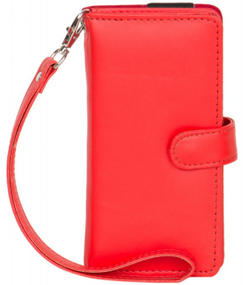 Micromax A36 Holster Cover by Senzoni - Red