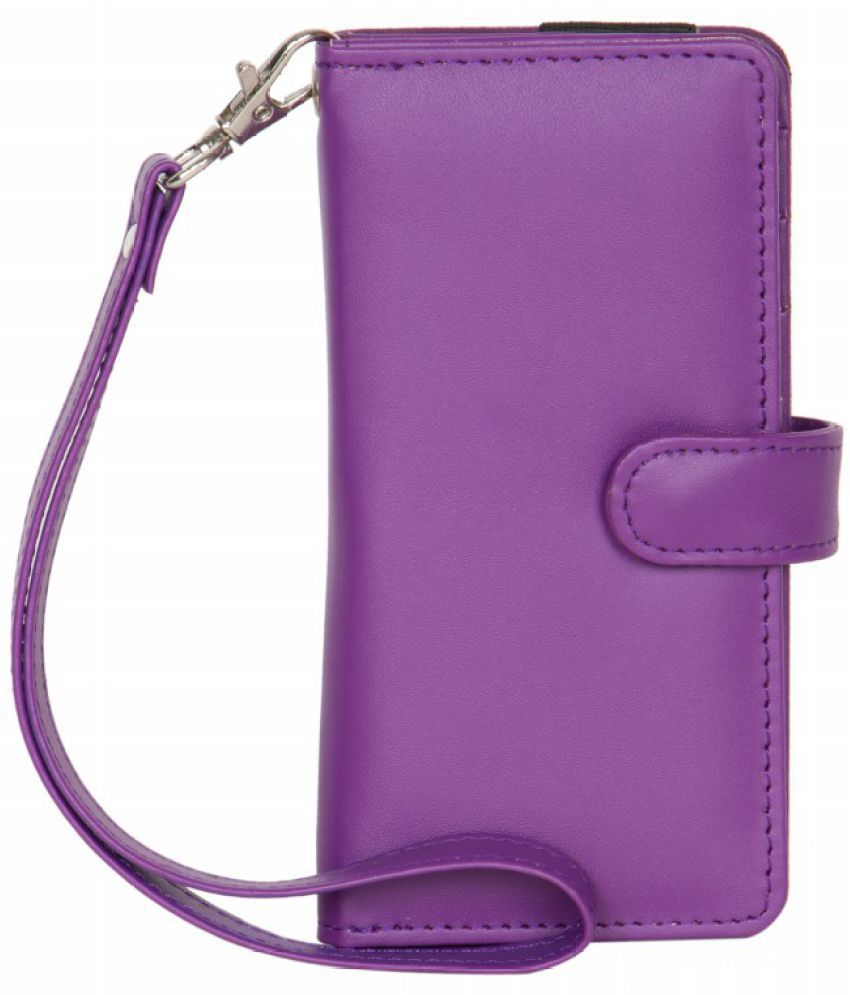 Micromax X099 Holster Cover by Senzoni - Purple