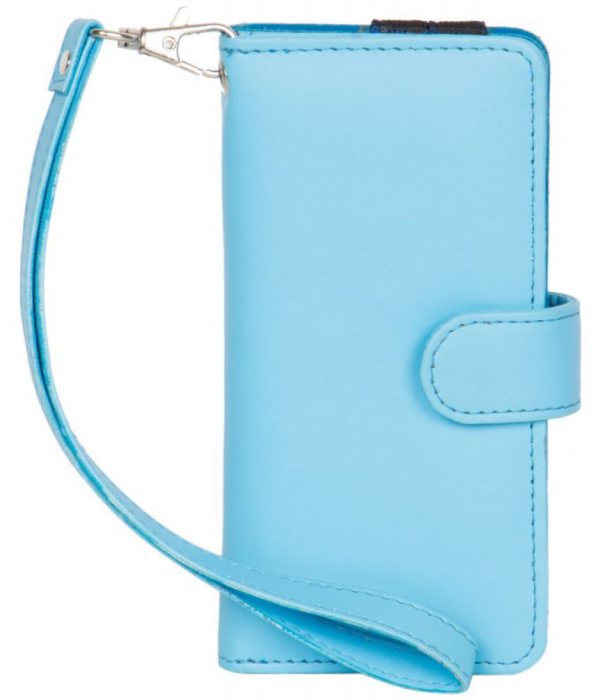 Micromax A27 Holster Cover by Senzoni - Blue