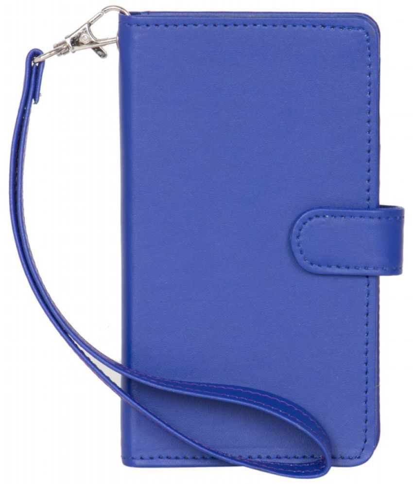 Gionee S Plus Holster Cover by Senzoni - Blue