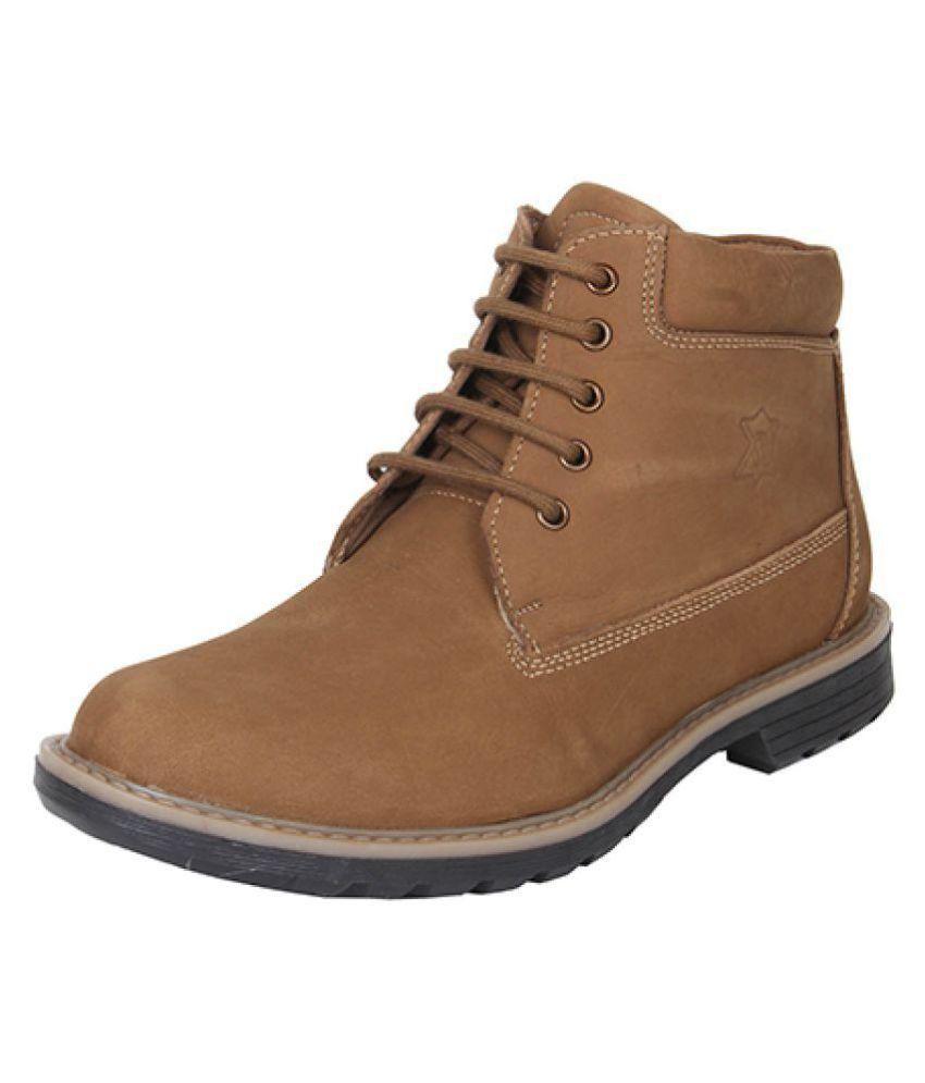 JX Bronze Casual Boot