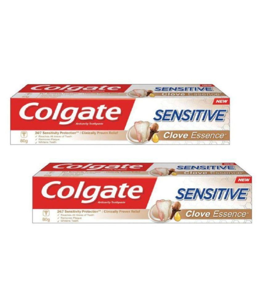98332670f Colgate Sensitive - Clove Toothpaste 80 gm Pack of 2  Buy Colgate Sensitive  - Clove Toothpaste 80 gm Pack of 2 at Best Prices in India - Snapdeal