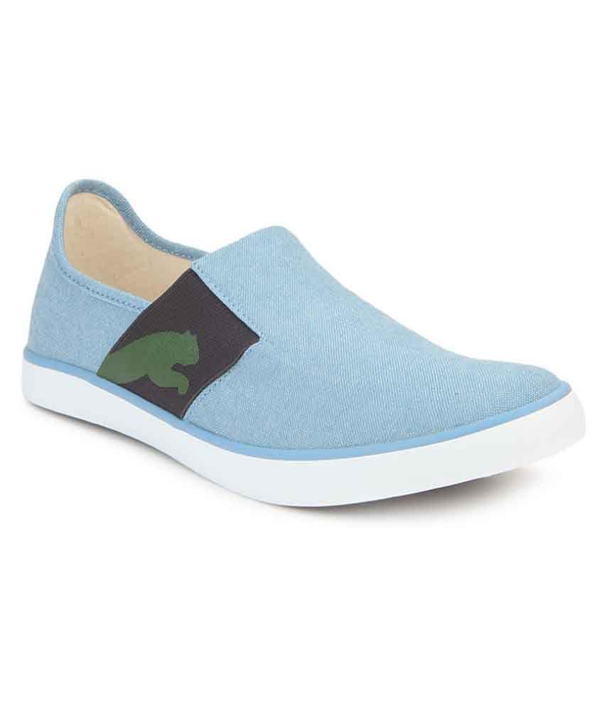 c49028a0aae176 Puma Lazy Slip On II DP niagara- Sneakers Blue Casual Shoes - Buy Puma Lazy  Slip On II DP niagara- Sneakers Blue Casual Shoes Online at Best Prices in  India ...
