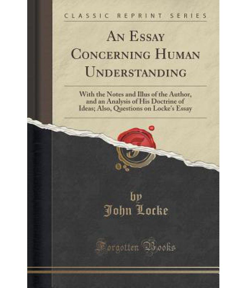 locke essay book iii