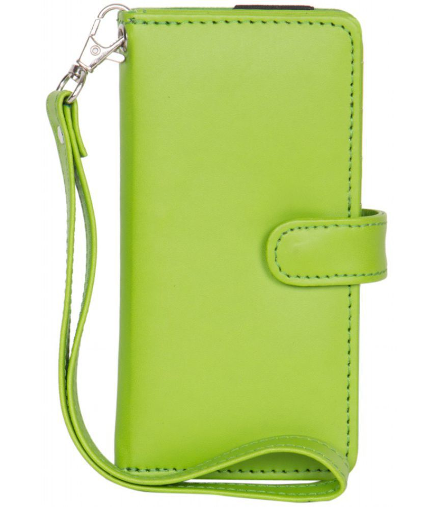 Micromax A60 Holster Cover by Senzoni - Green