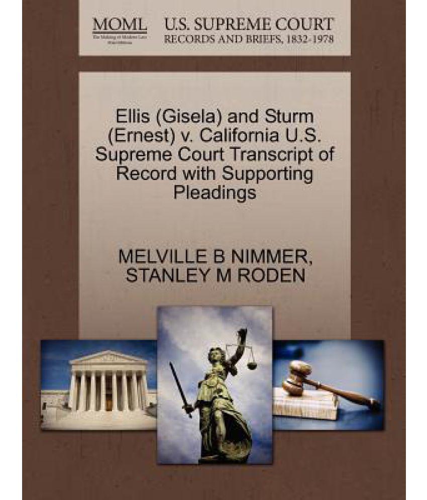 mckleskey v kemp law brief