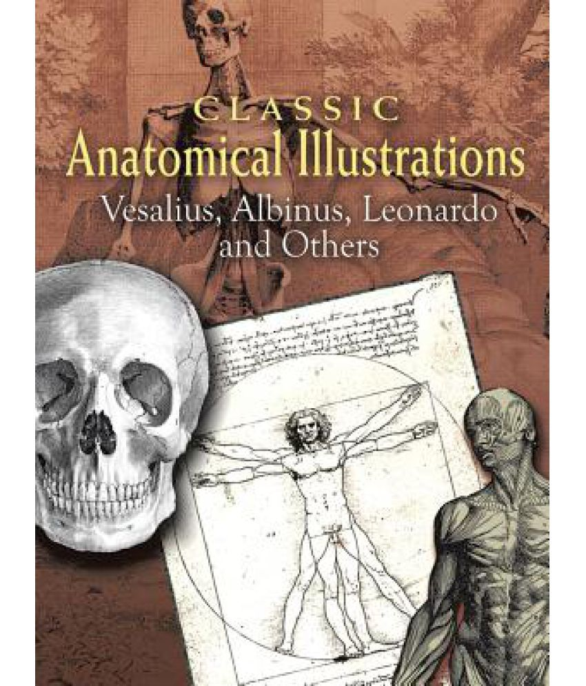 Classic Anatomical Illustrations: Vesalius, Albinus, Leonardo and ...