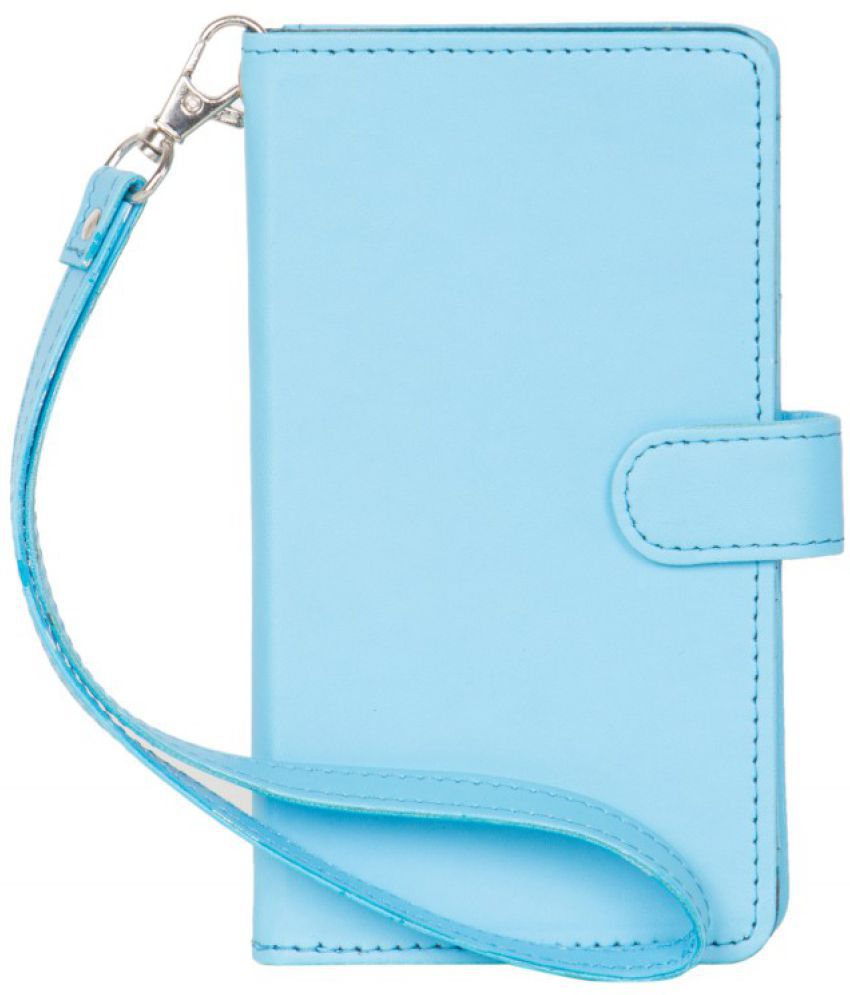 Micromax Canvas Pulse 4G E451 Holster Cover by Senzoni - Blue
