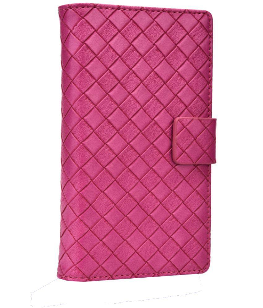 Asus Zenfone Go Flip Cover by Jojo - Pink