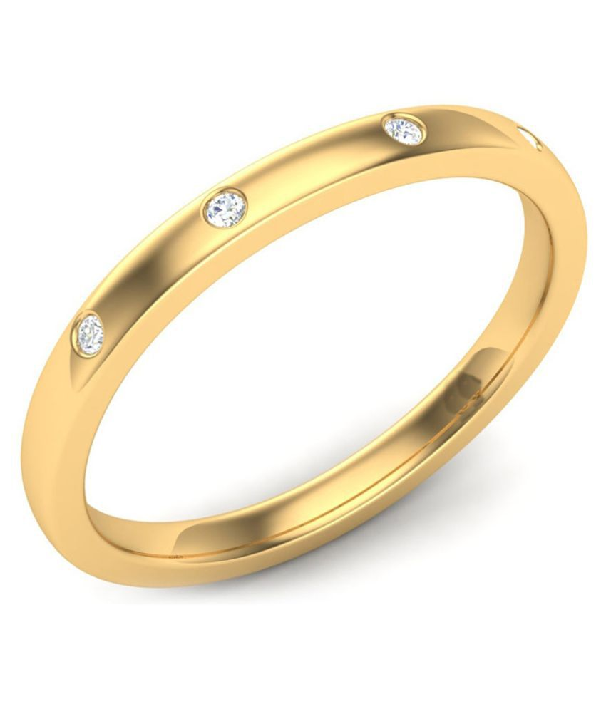 Kataria Jewellers 14k Gold Band Ring