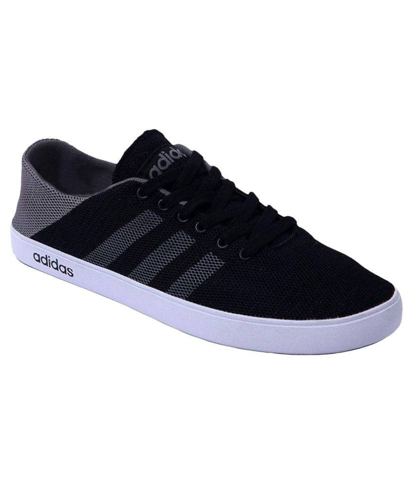 Adidas Sneakers Black Casual Shoes - Buy Adidas Sneakers ...