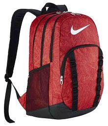 nike red backpack