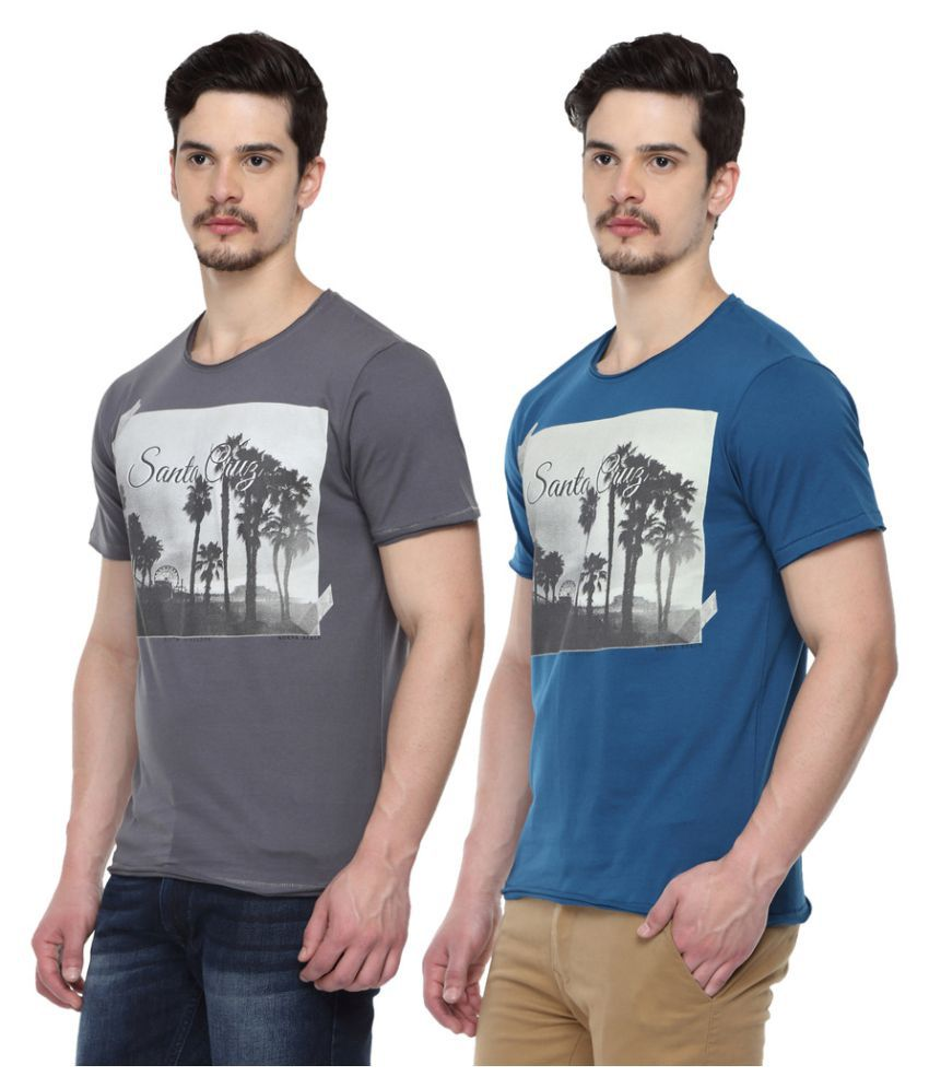 Odaka Multi Round T-Shirt Pack of 2