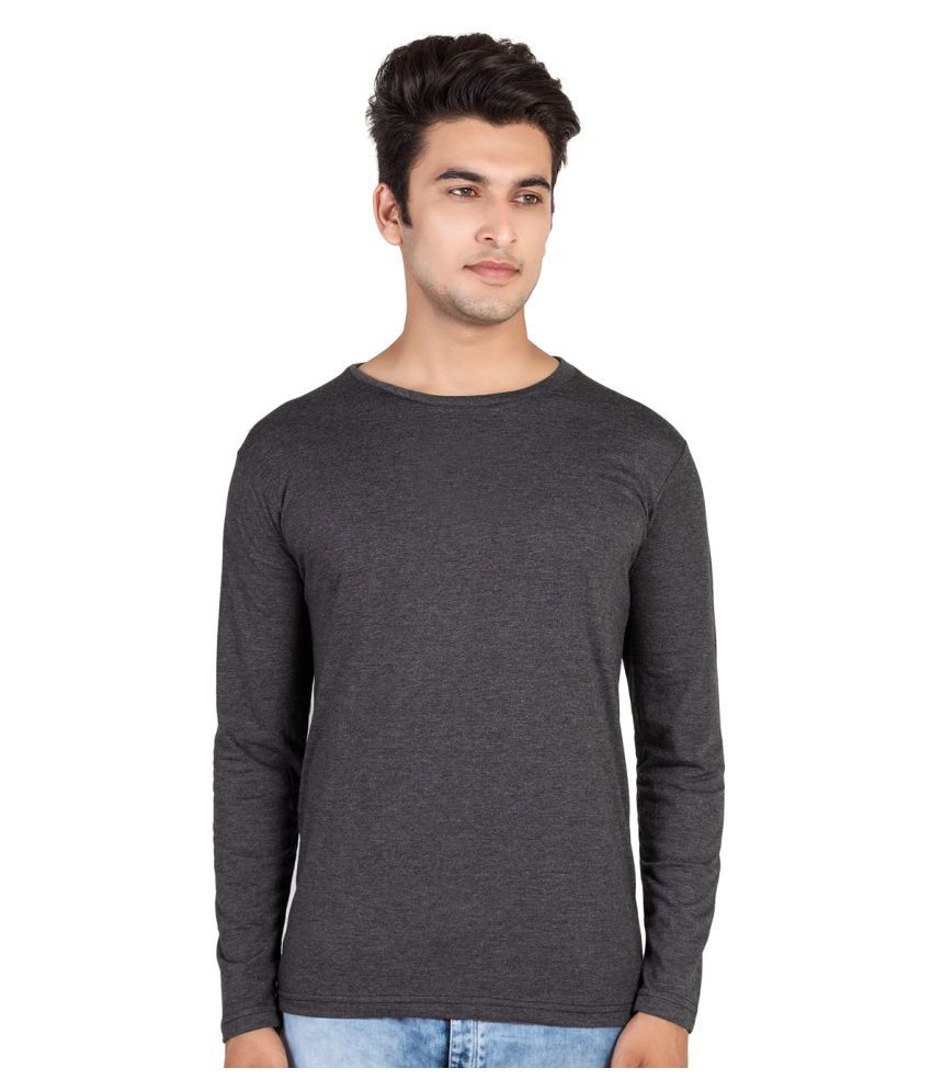Hooboo Grey Round T-Shirt