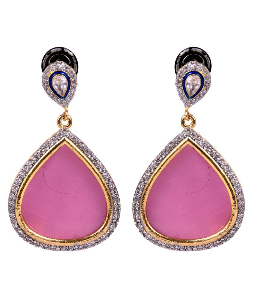 DLS Jewellery Pink Earrings