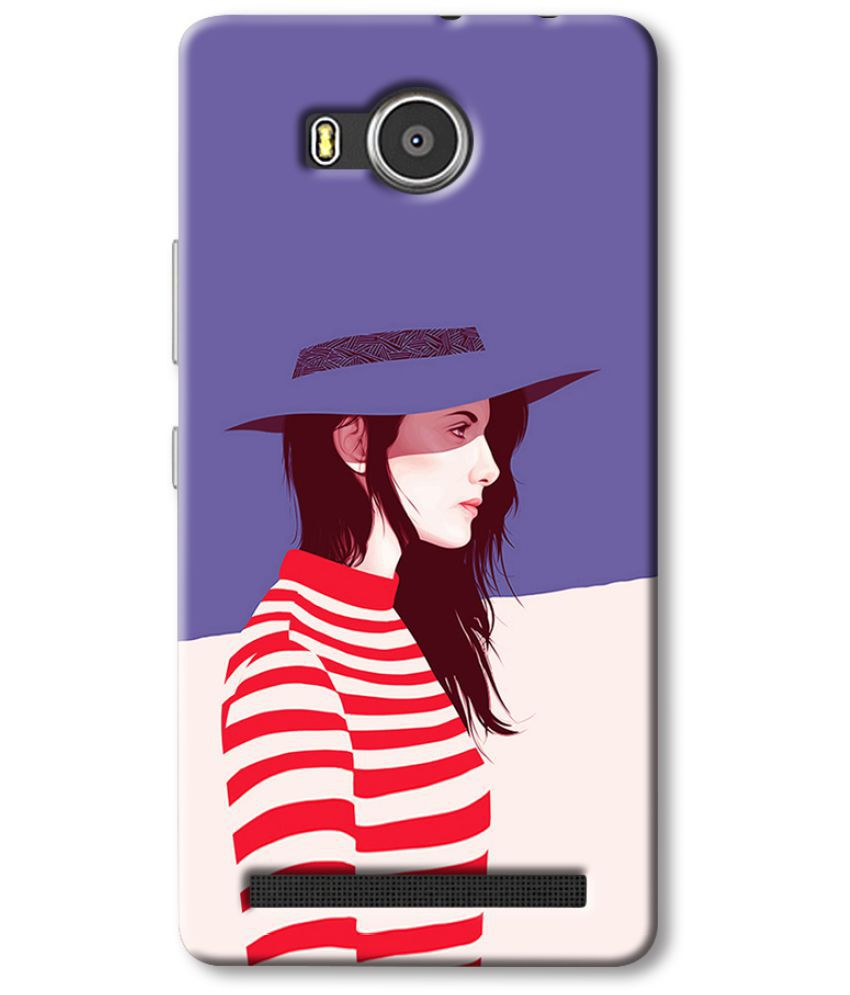Lenovo A7700 Printed Cover By Cell First