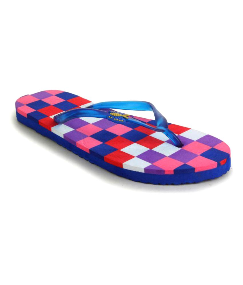 Fashion Victory Multi Color Slippers