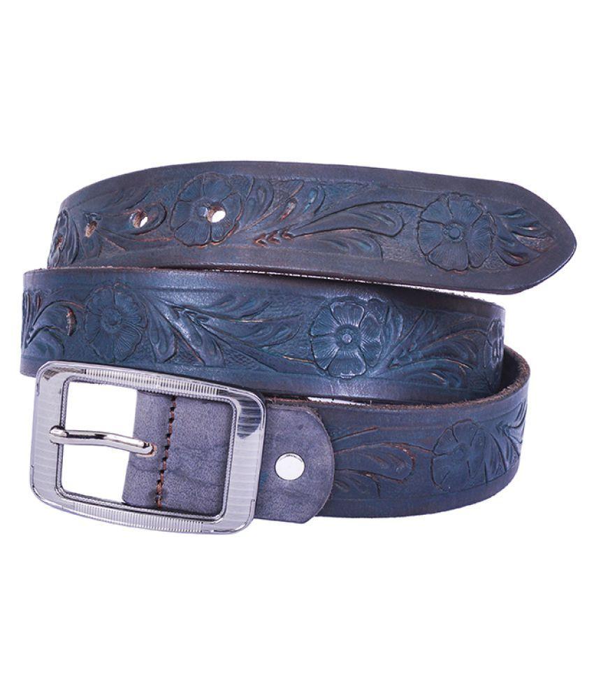 Dreamship Black Leather Party Belts