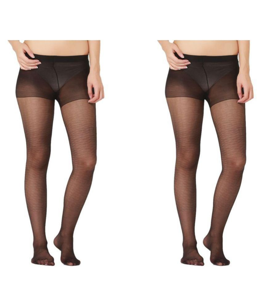Quittance Black Stocking - Pack of 2