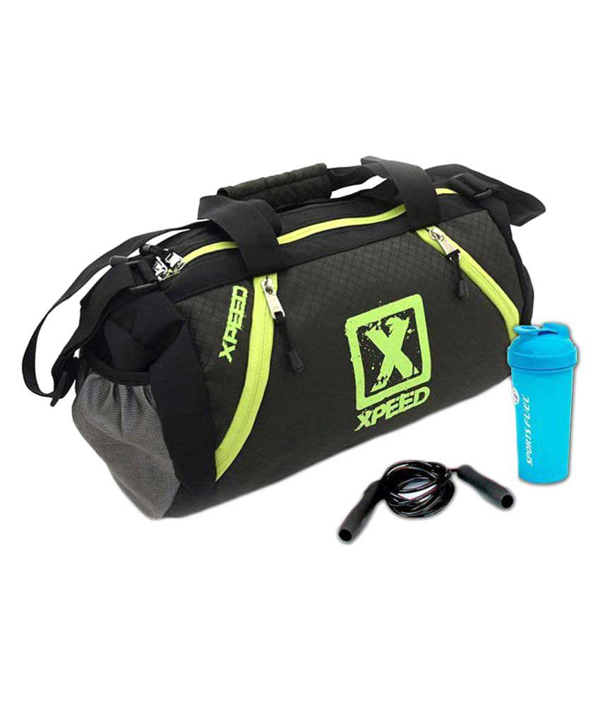Xpeed Black Gym Bag