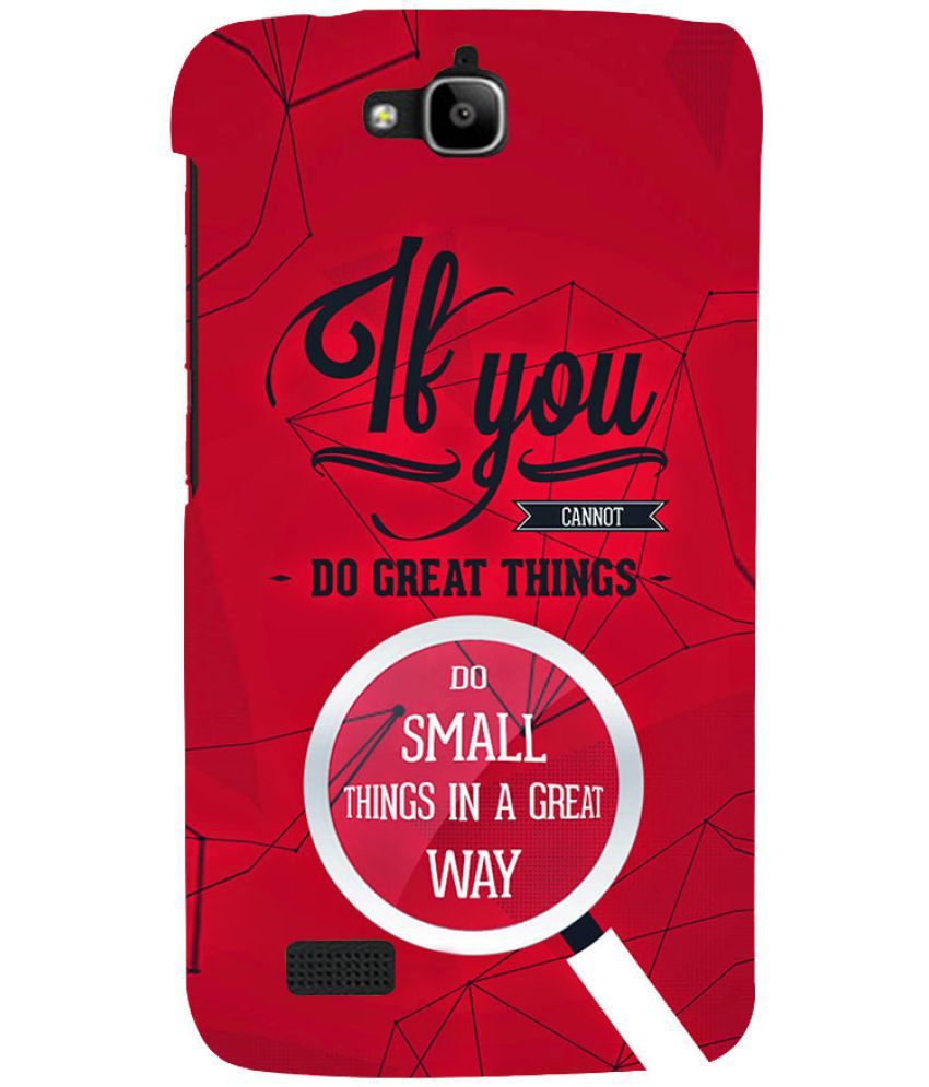 Huawei Honor Holly Printed Cover By PrintVisa
