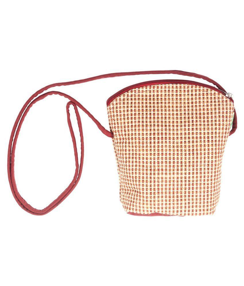 Avni Multi Jute Sling Bag