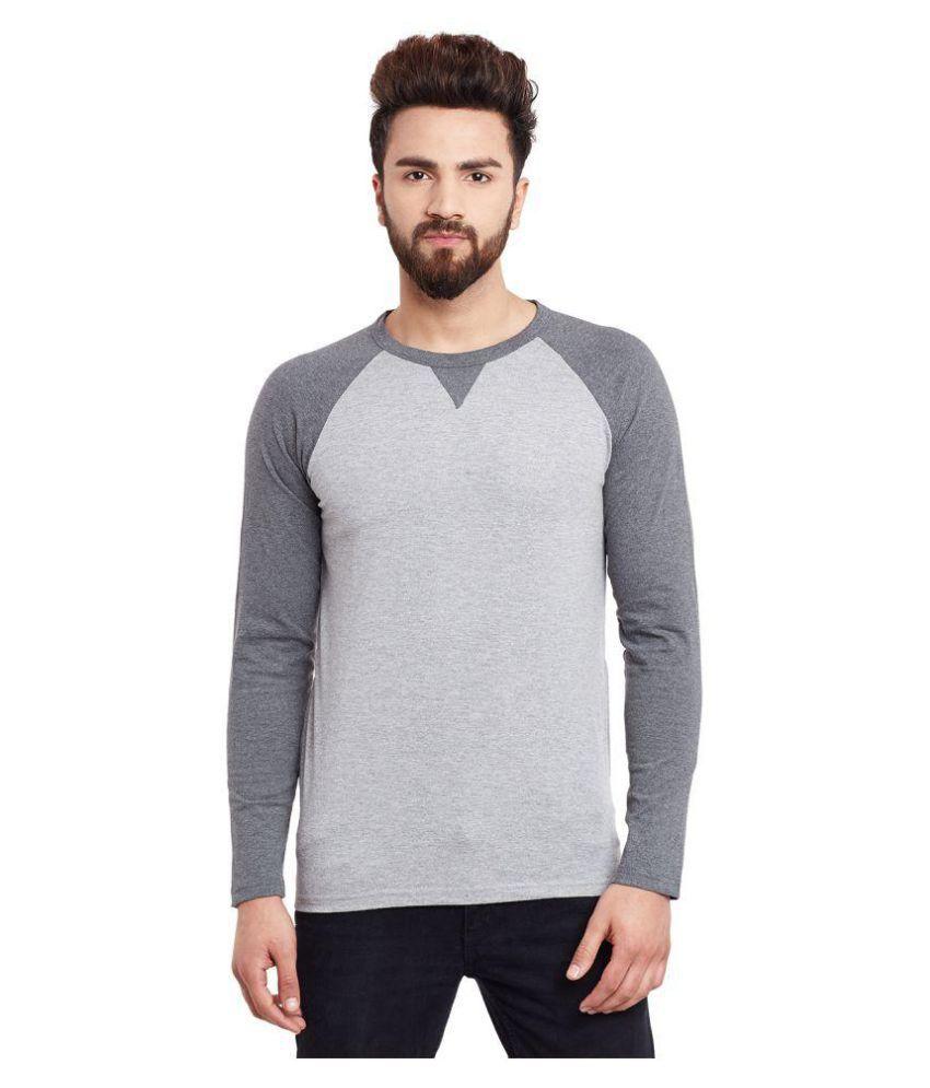 Hypernation Grey Round T-Shirt