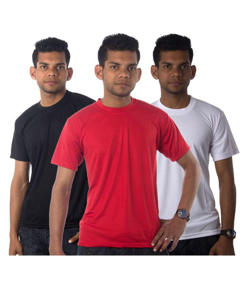 Part Of Life Multi Cotton Blend T-Shirt Pack of 3
