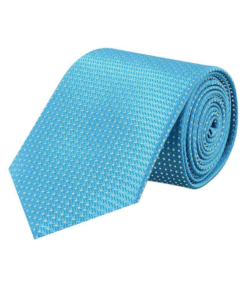 Tiekart Blue Casual Necktie