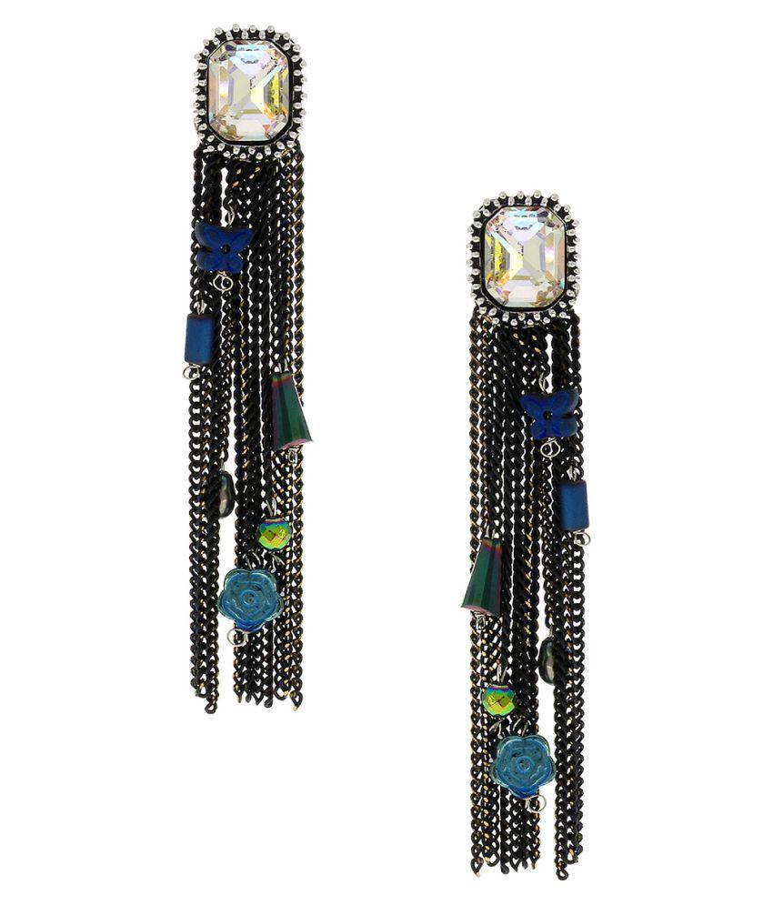 Anuradha Art Multiolour Designer Classy Trendy Designer Hanging Earrings