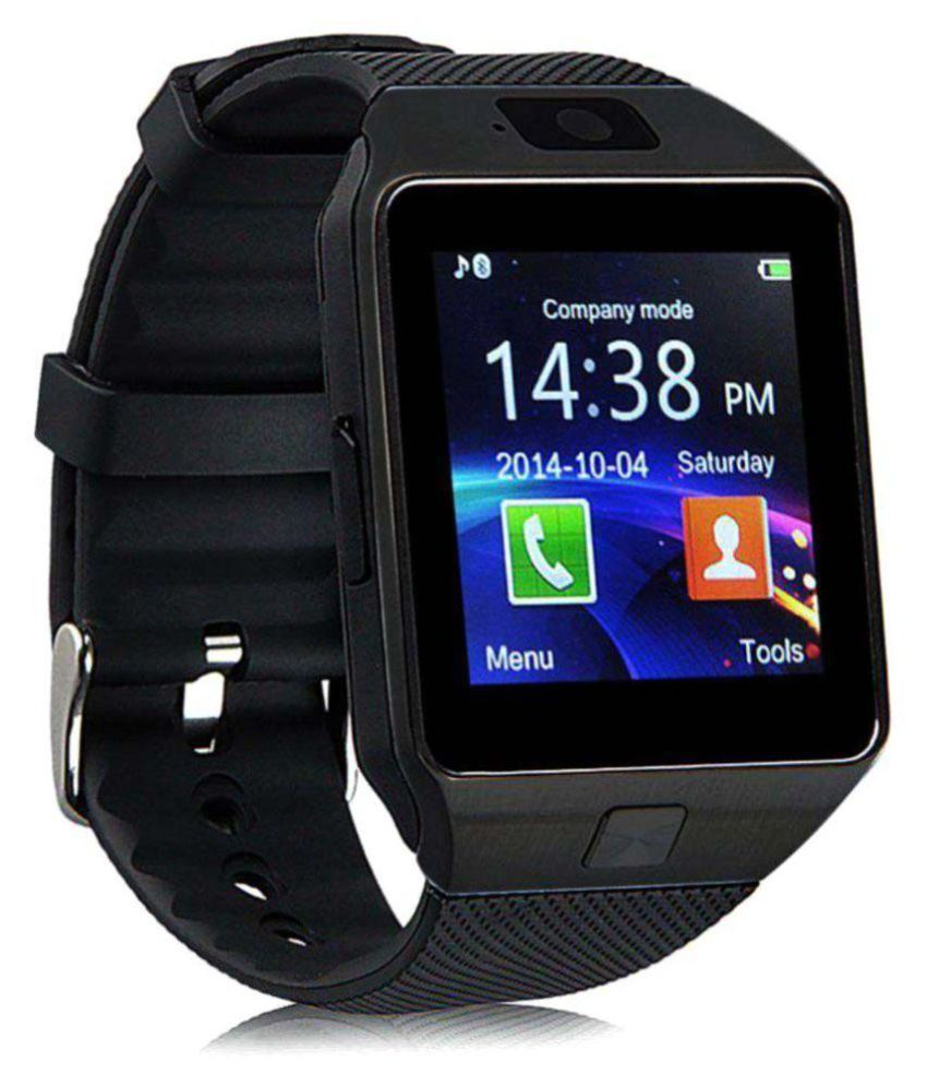 Wearable Smartwatches Online At: E-Comfort DZ09 Smart Watches Black