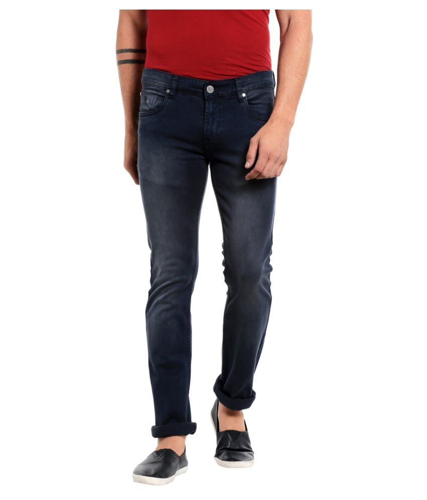Mayback Blue Regular Fit Jeans