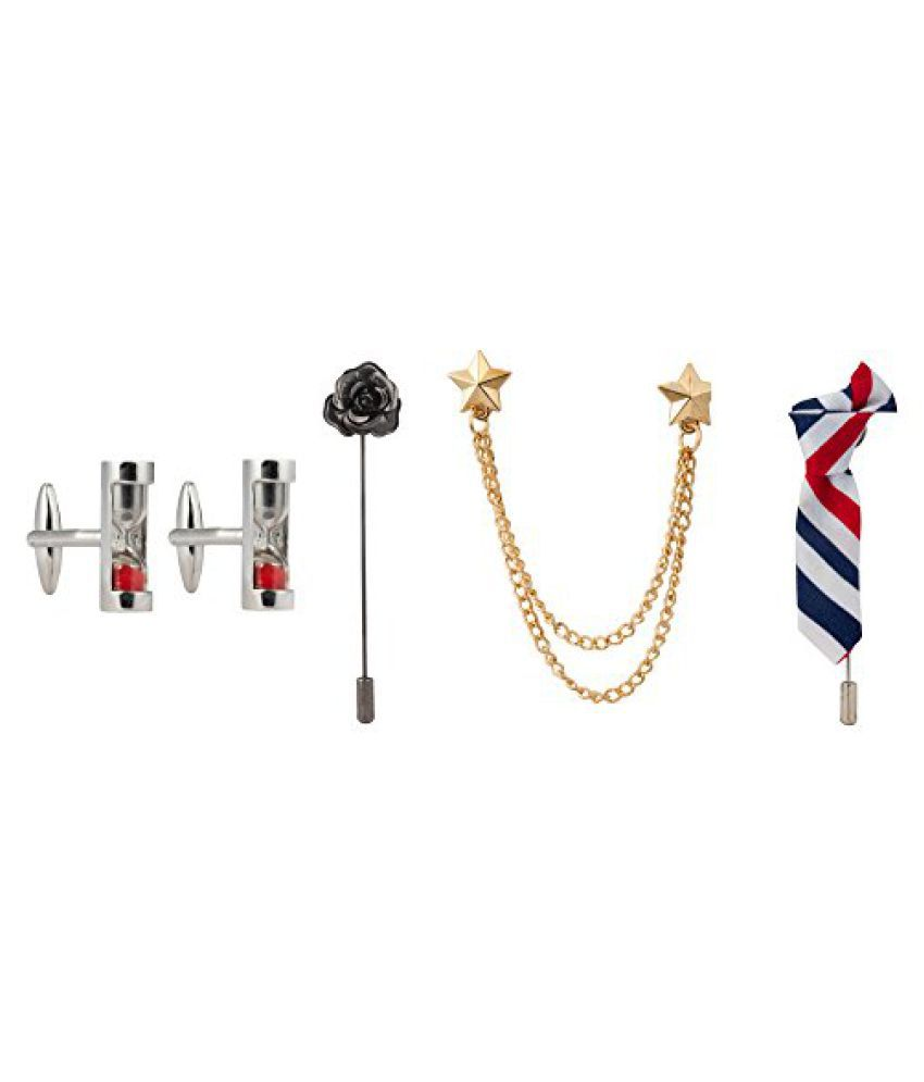 Knighthood Set of Cufflinks And Lapel Pins For Men