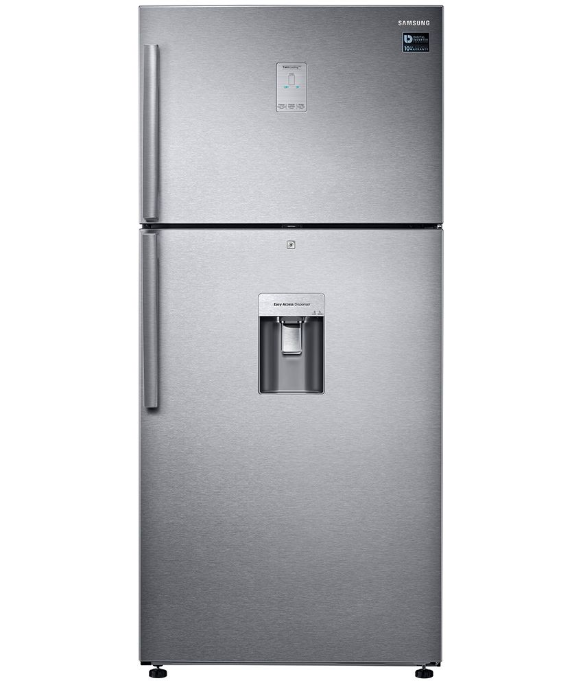 1963586385d ... Refrigerator Online At. Samsung 523 Ltr 3 Star Rt54k6558sl Tl Frost  Free Double Door