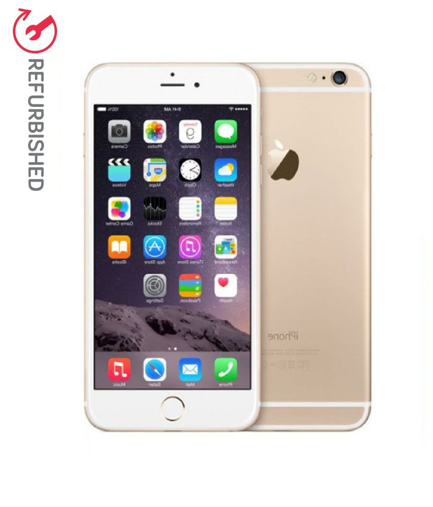 refurbished apple 6s plus 16 gb gold available at snapdeal. Black Bedroom Furniture Sets. Home Design Ideas