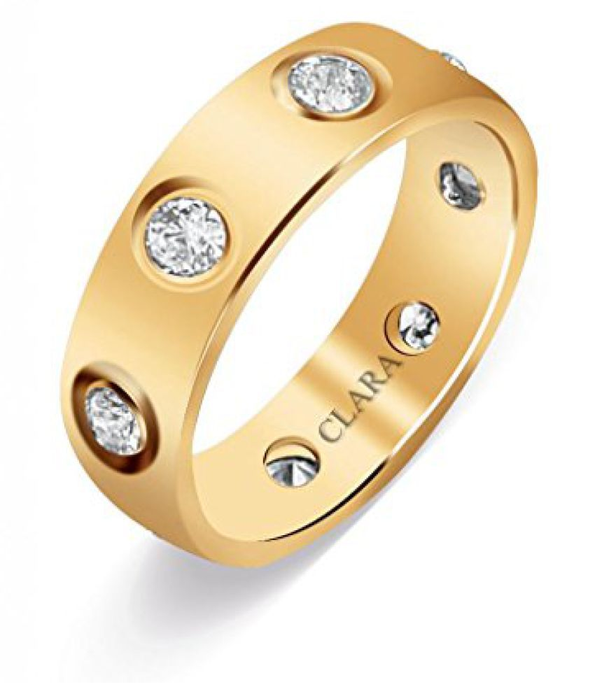 Clara Swarovski The Famous Sterling Silver Ring For Men