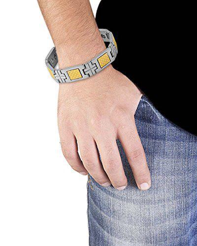 Voylla Classy Silver Plated Bracelet
