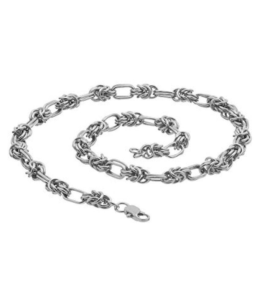 Voylla Robust Silver Tone Chain