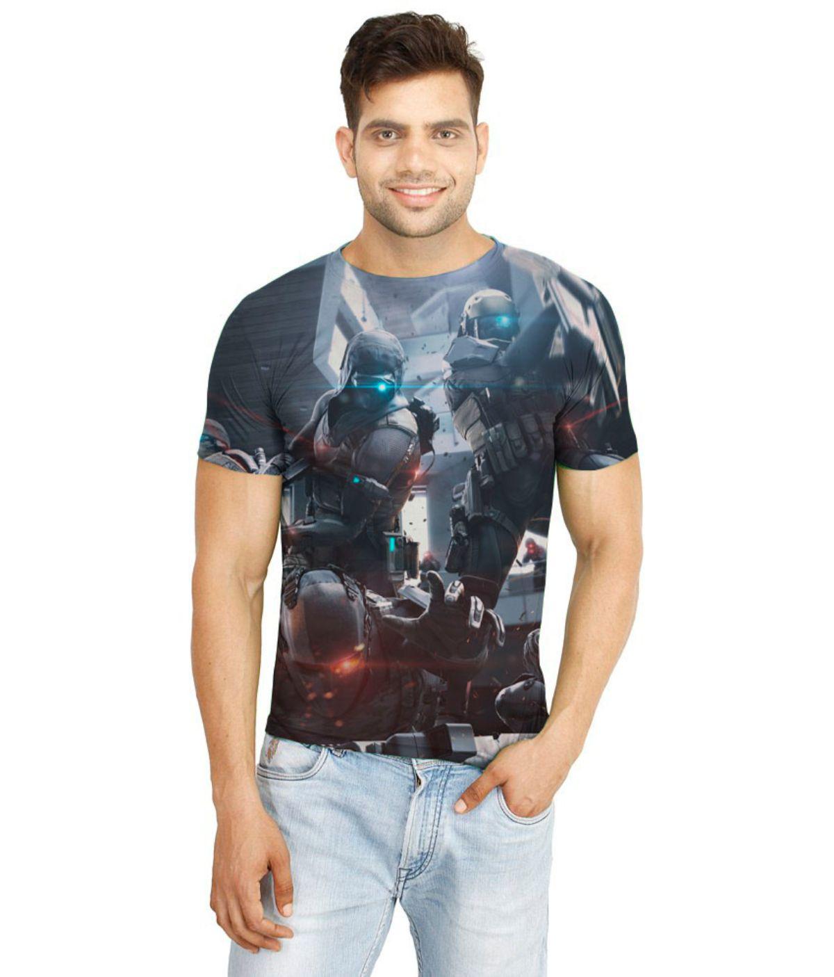 Atheno Multi Polyester T-Shirt Single Pack