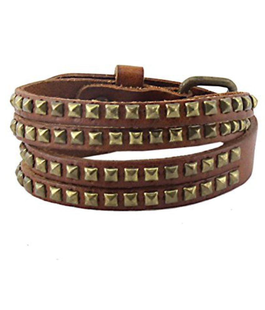 Brown Designer Wrist Band