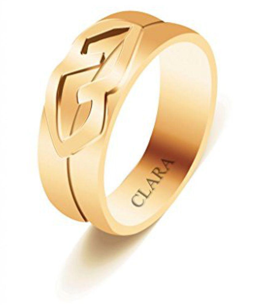 Clara Together Sterling Silver Ring For Men