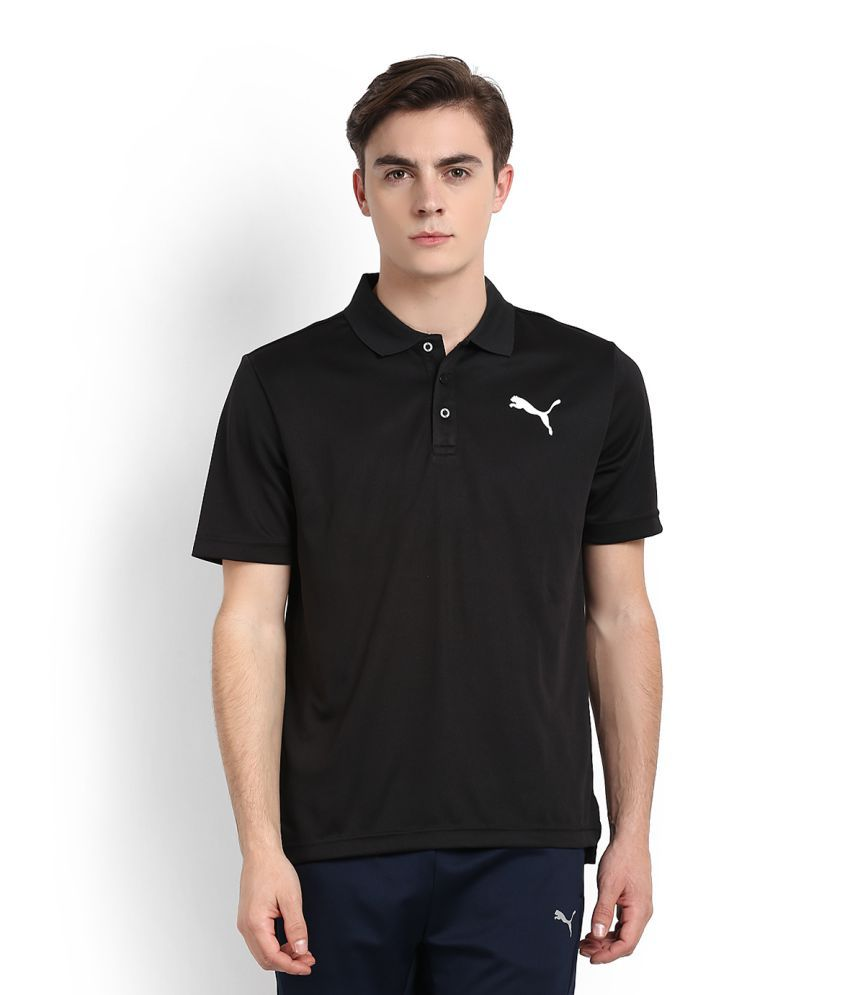 Puma Black High Neck T-Shirt